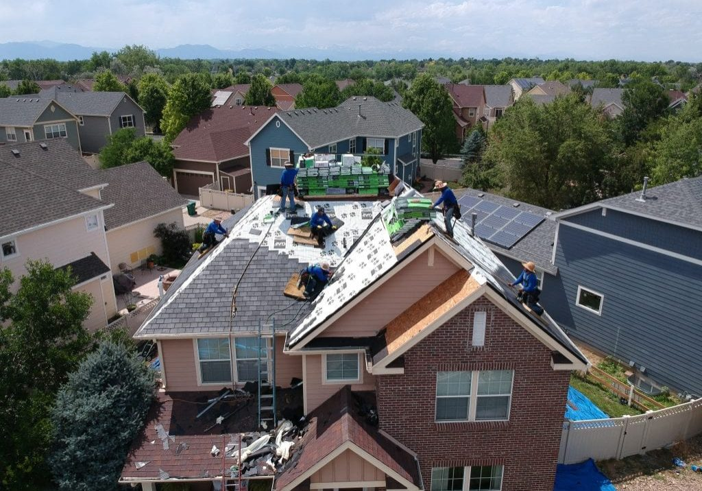 F-Wave roof install Denver, CO